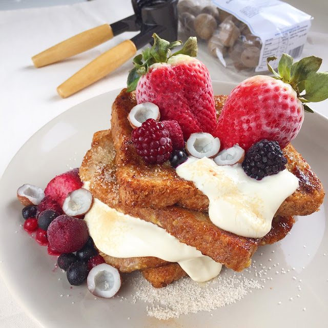 Veganer French Toast